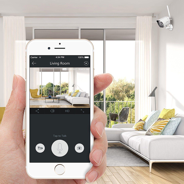 Amazon.com : Zmodo Smart Wireless Security Cameras- 4 Pack