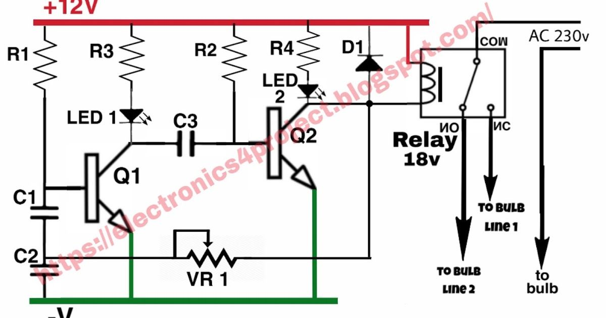 Powerful Electric Chaser Circuit Diagram