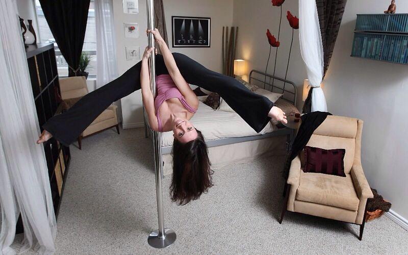 Dancing Pole In Bedroom