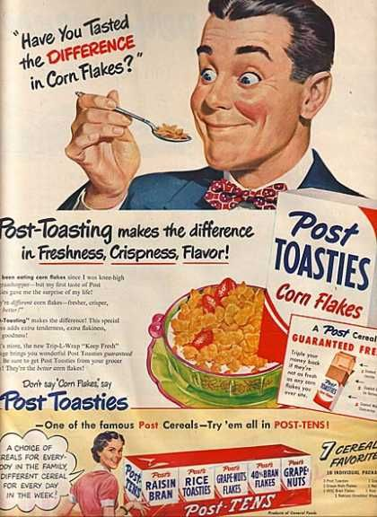 Vintage Food Advertisements of the 1950s | Print & Posters