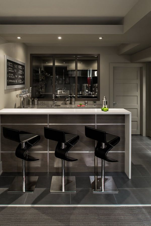 Modern Basement Bar Kitchen Remodeling With Images Modern Home