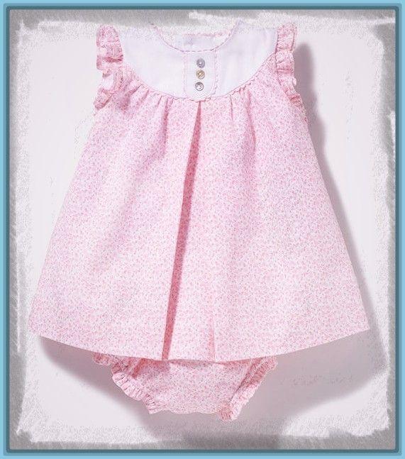 Resultado de imagen de vestidos para niñas recien nacidas | vestidos ...