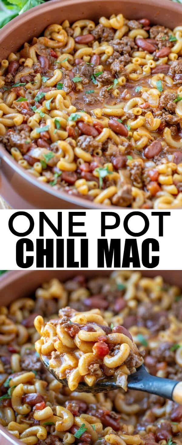 One Pot Chili Mac - Tornadough Alli
