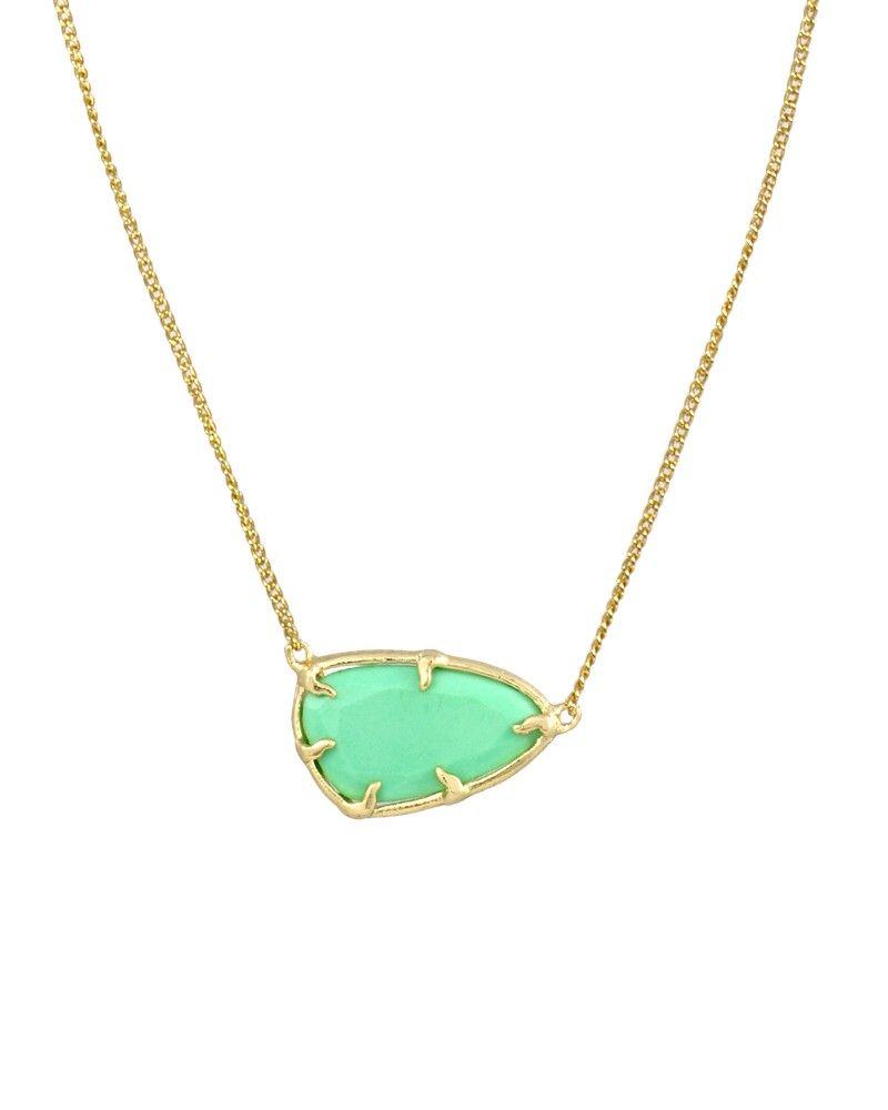 Noleen pendant necklace in mint kendra scott jewelry wish list