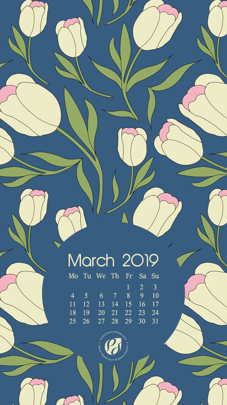 March 2019 Iphone Wallpaper