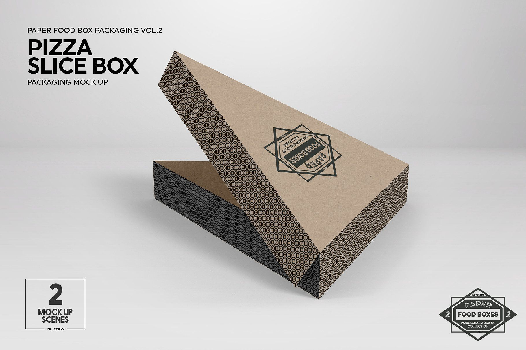 Download Vol 2 Food Box Packaging Mockups Packaging Mockup Mockup Stationery Mockup