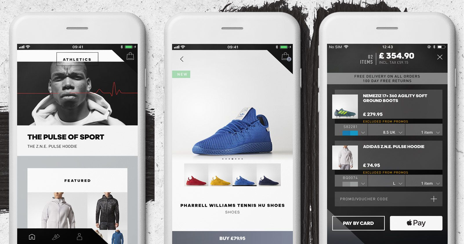Adidas  first shopping app is also a personalized news feed ... 009f102b3