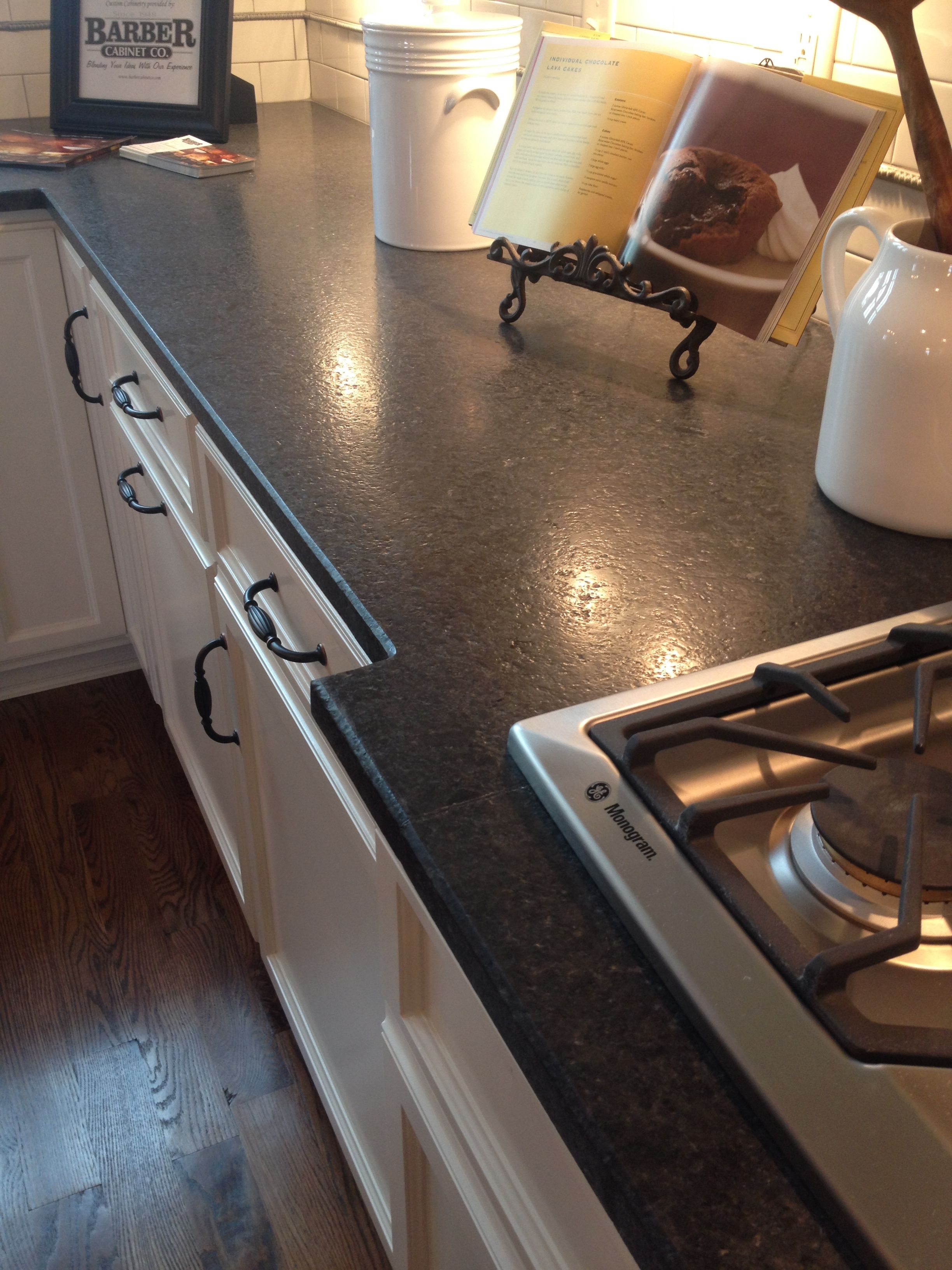 Textured Granite Countertops Black Pearl Suede Perimeter Counter Suede Finish Is