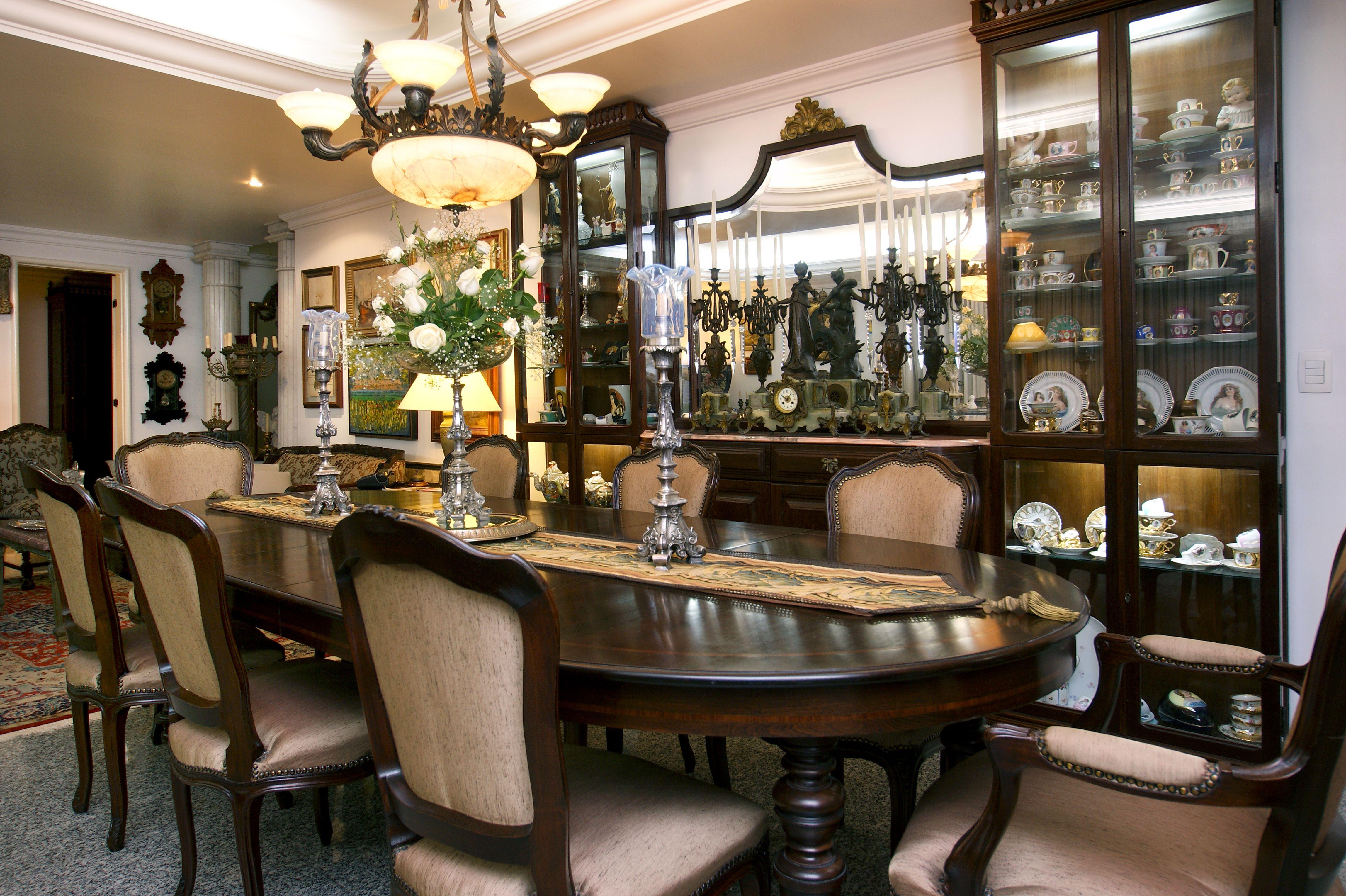 Sala De Jantar Cl Ssica Projetos By Celene Gurgel Pinterest -> Sala De Jantar Atlanta