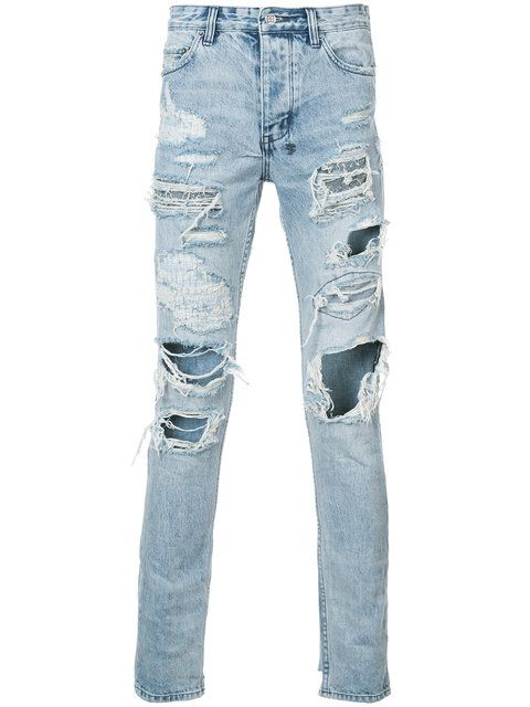 Distressed Jeans Ksubi 6Hmbxrz