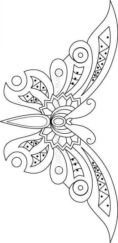 Butterfly Kelebek Kelebekler Nakis Desenleri Ve Boyama Sayfalari