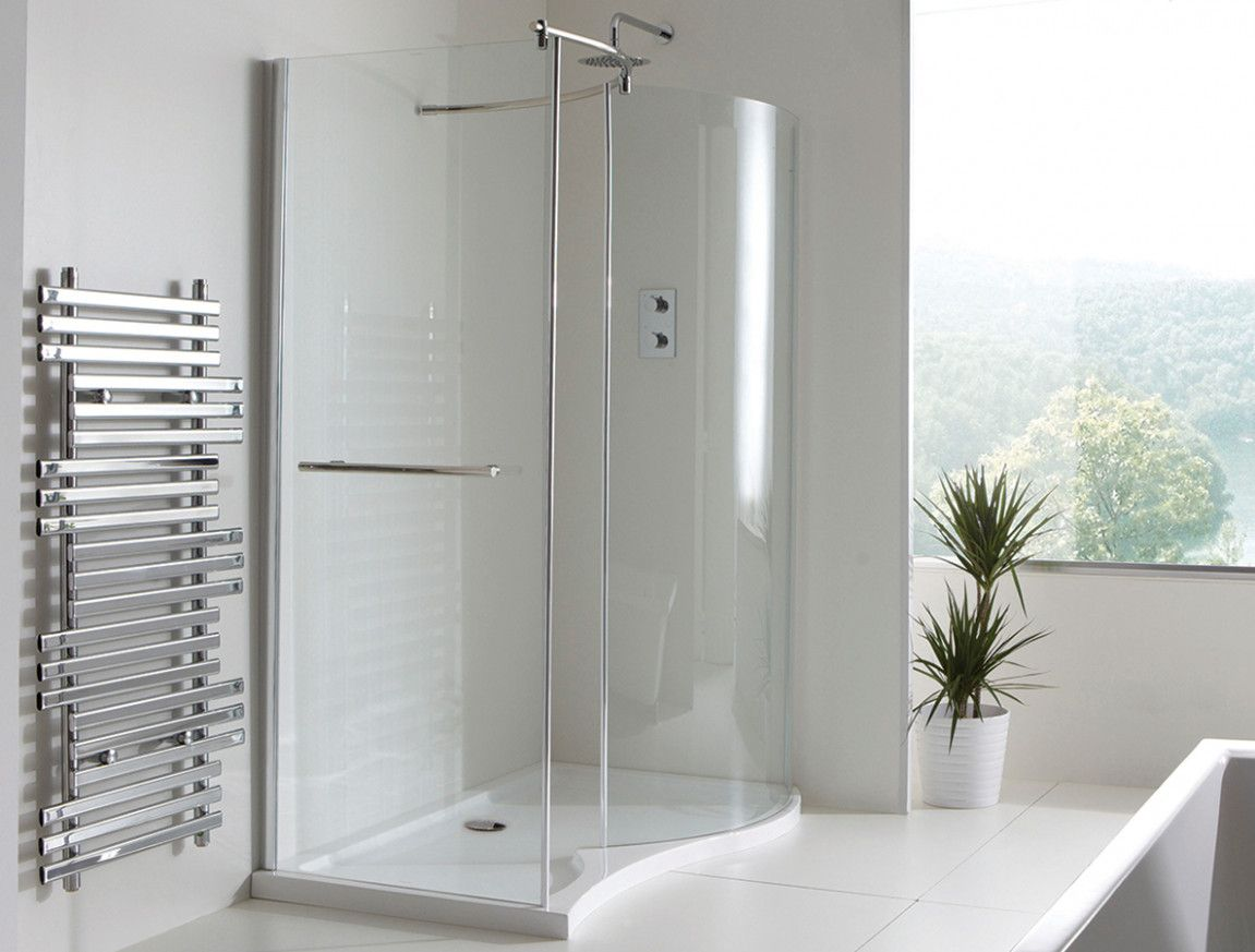 This Is Why Curved Walk In Shower No Door Is So Famous! | Pinterest ...