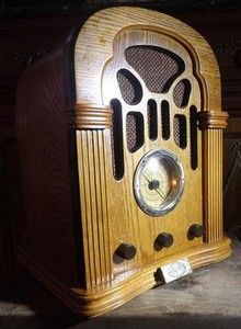 poste de radio cassette tsf spirit of st louis r plique 1933 34 eski radyo pinterest. Black Bedroom Furniture Sets. Home Design Ideas