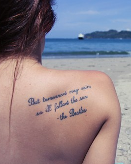 Tattoo Quotes For Girls Hot quote tattoo for girls #quote #tattoo .loveitsomuch. Tattoo Quotes For Girls