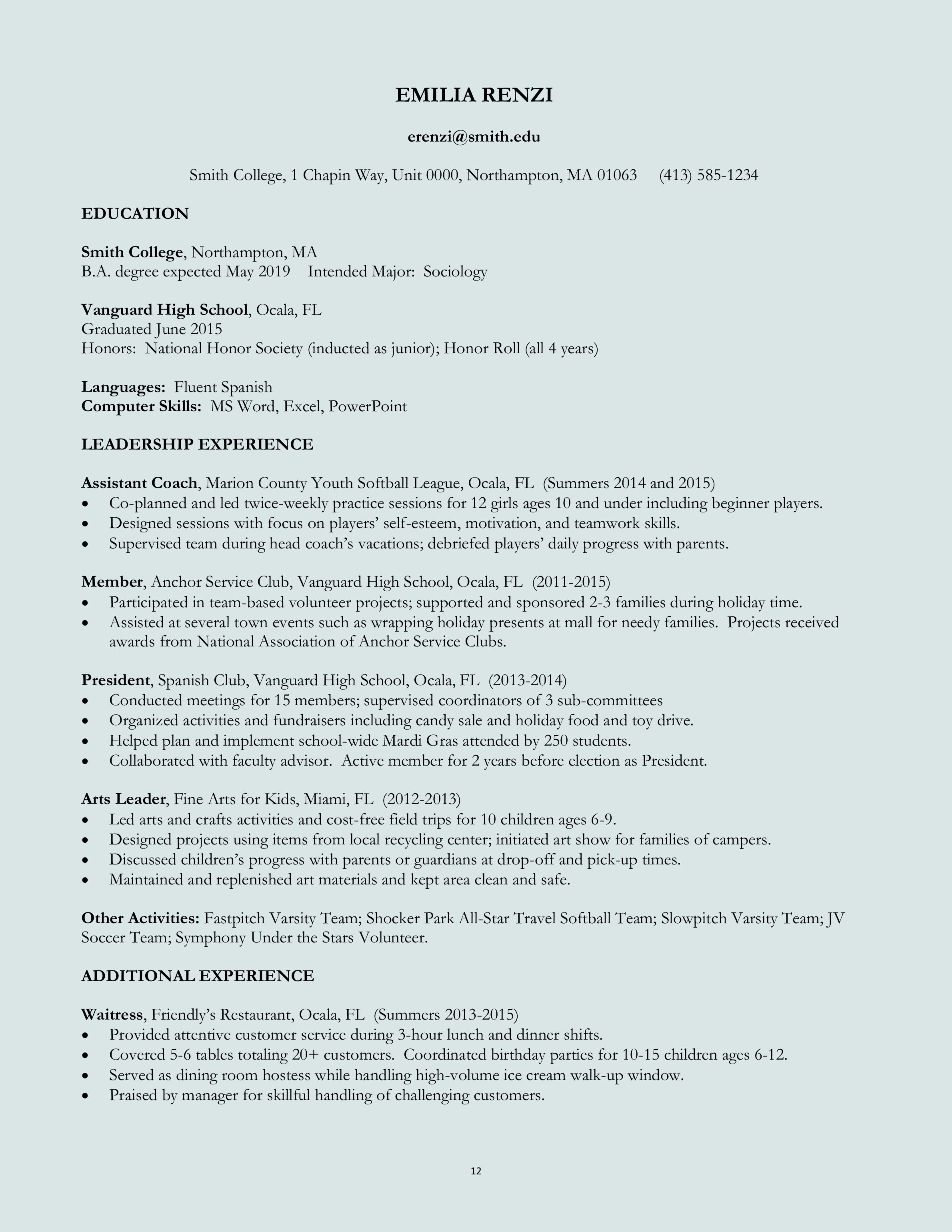 download resume format amp write the best resume regarding good resume format