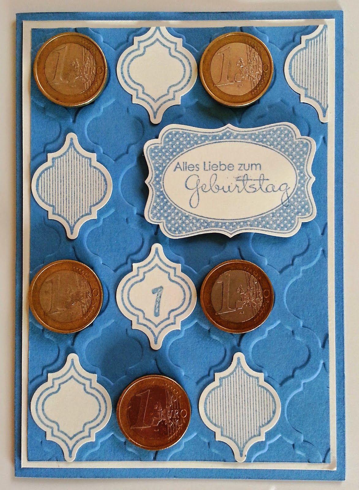 Tanja´s Stempel Zauberland: Karte zum 1. Geburtstag  Papier/Farbe: Savanne, Ma...