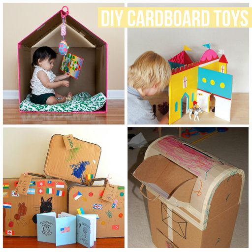 Things I Wanted To Tell You Cardboard Toys Diy Cardboard Toys Diy Cardboard