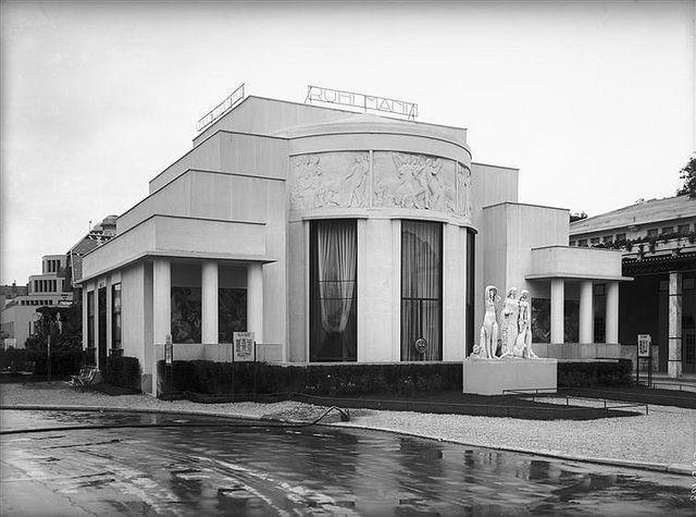 Paris Exposition 1925 Ruhlmann Pavilion Pavilion Art Deco And Architecture