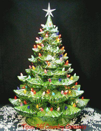 Porcelain Christmas Tree 3 Photo