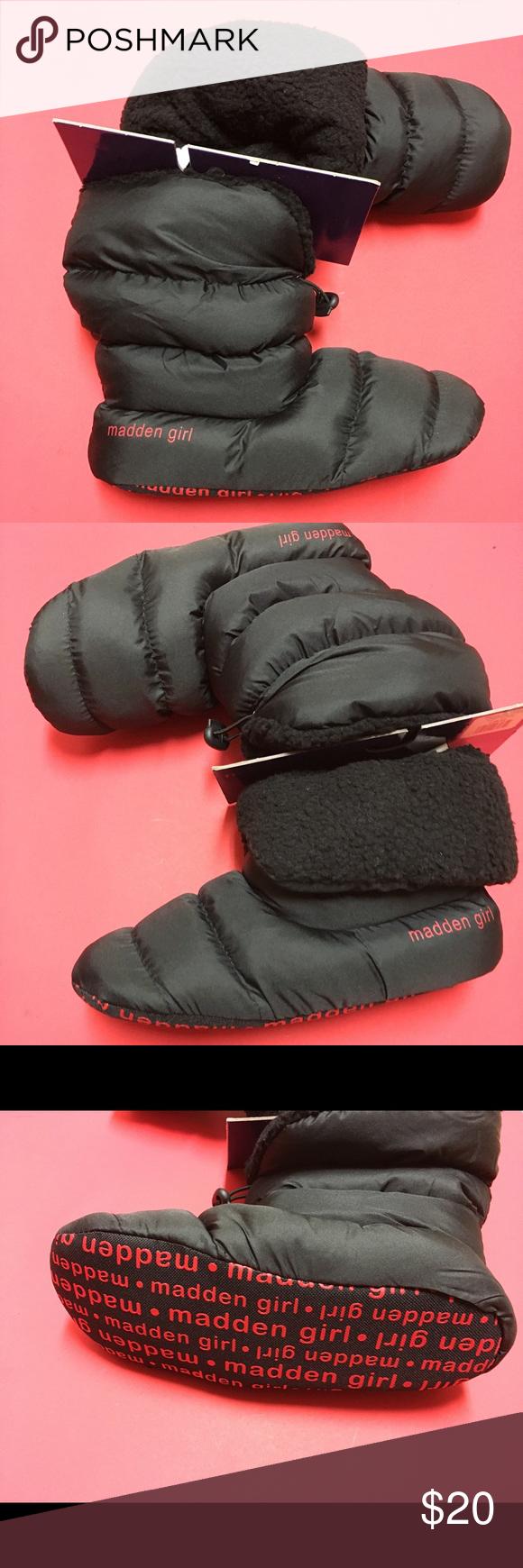 ✨NWT✨madden girl puffer slippers