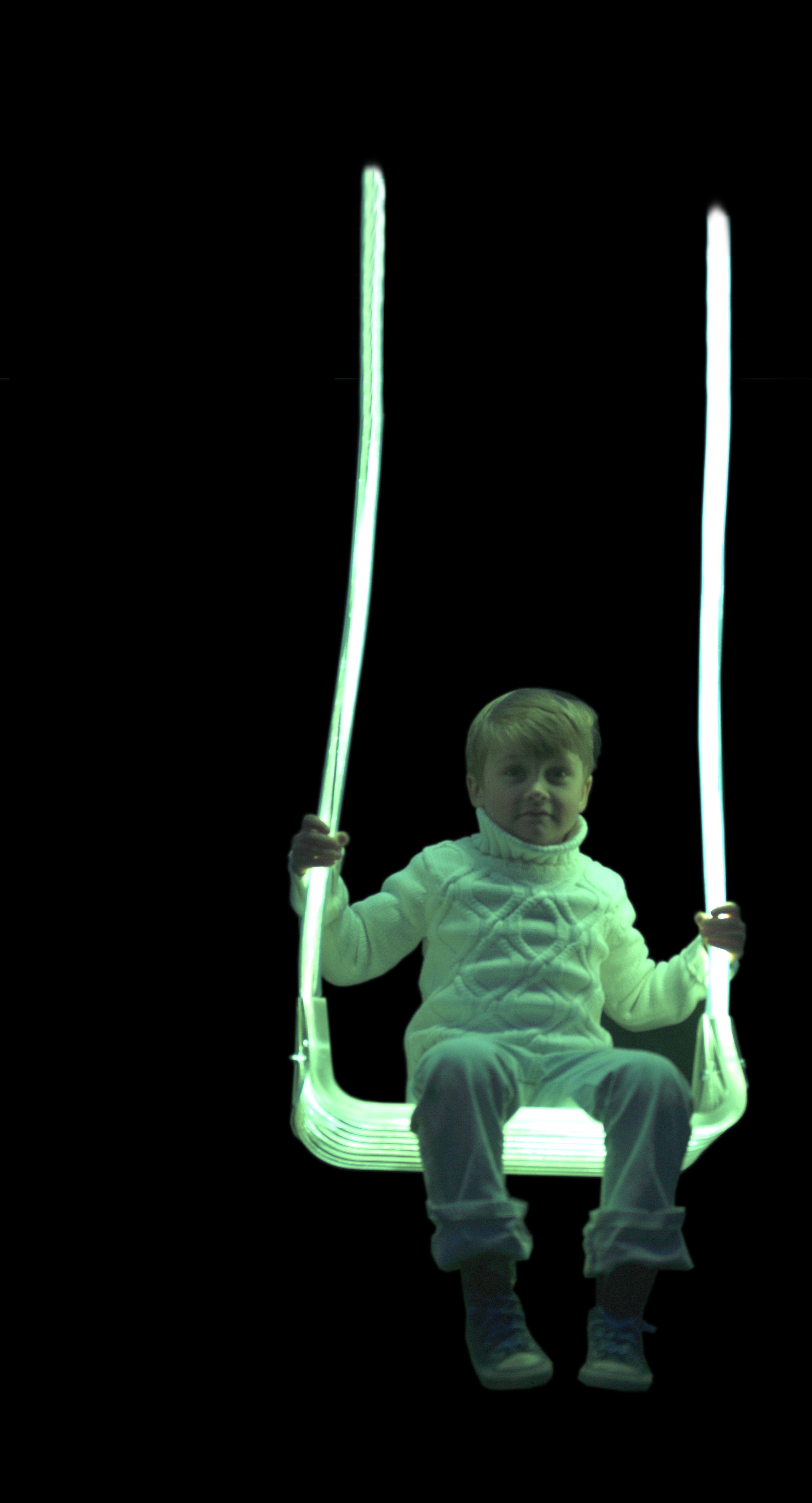 Glowing in the dark swing/ balano q brilha no escuro