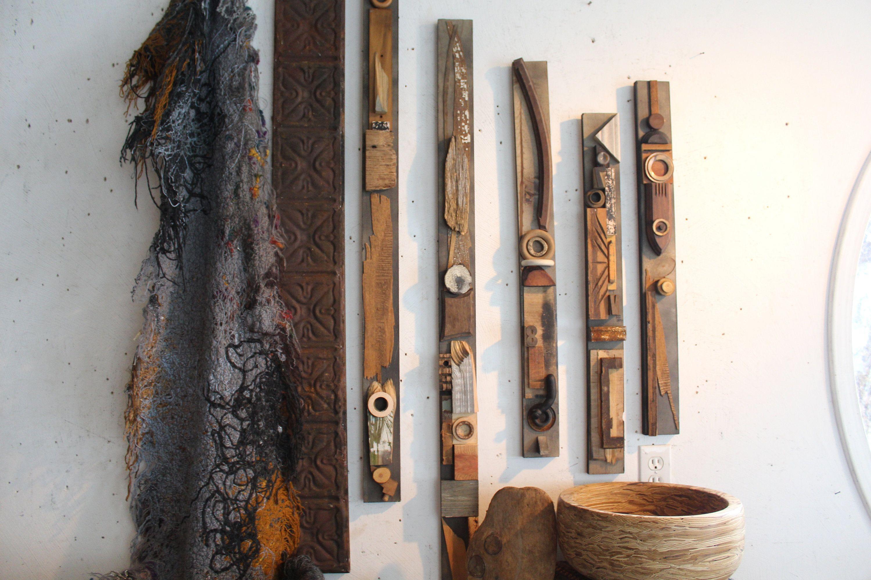 Ceiling Tin Tile Heartbeat Glazed Metal & Wood