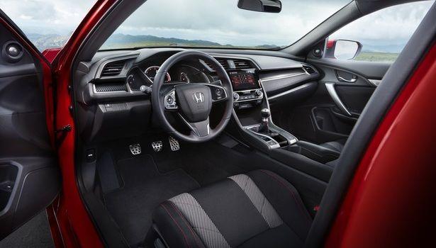 2018 Honda Civic Interior Honda Civic Si Honda Civic Honda