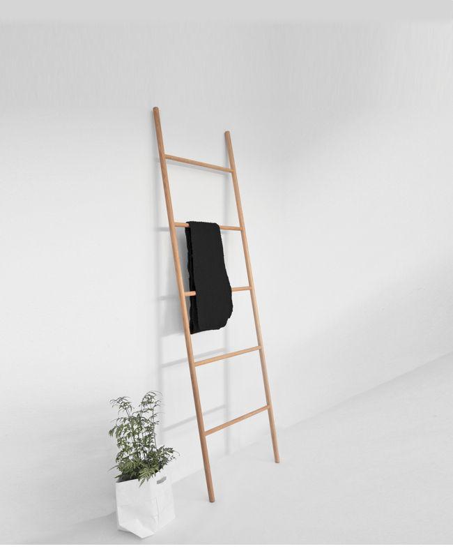 Handtuchhalter Holz Leiter Handtuchhalter Leiterdekor Tuch