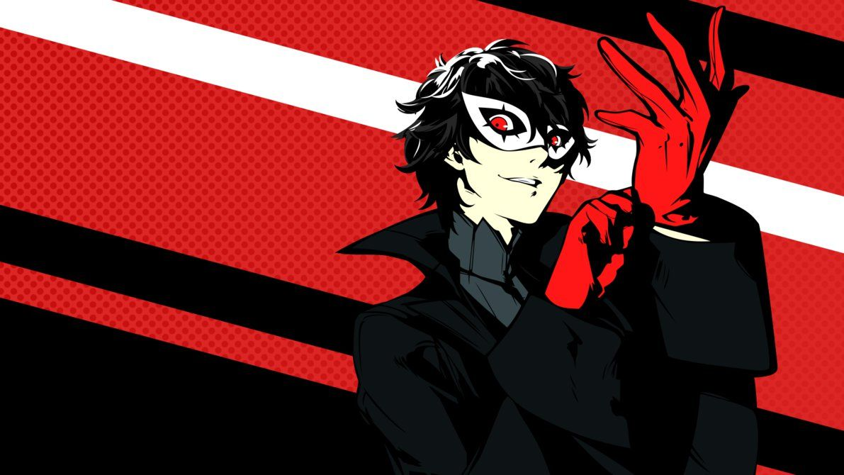Joker Wallpaper By Dekodere Persona 5 Joker Joker Wallpapers Persona 5 Anime