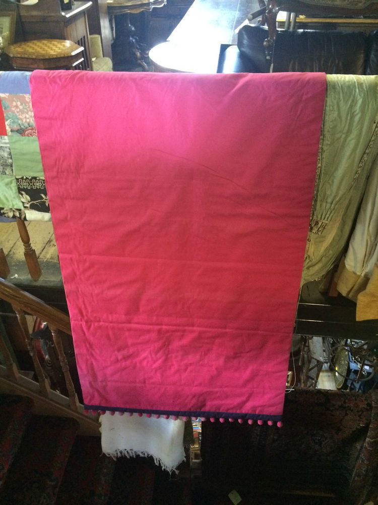 Shocking Pink Roman #Blind W40 D68 - 2 available the same size. Now for sale on ebay for £24 each