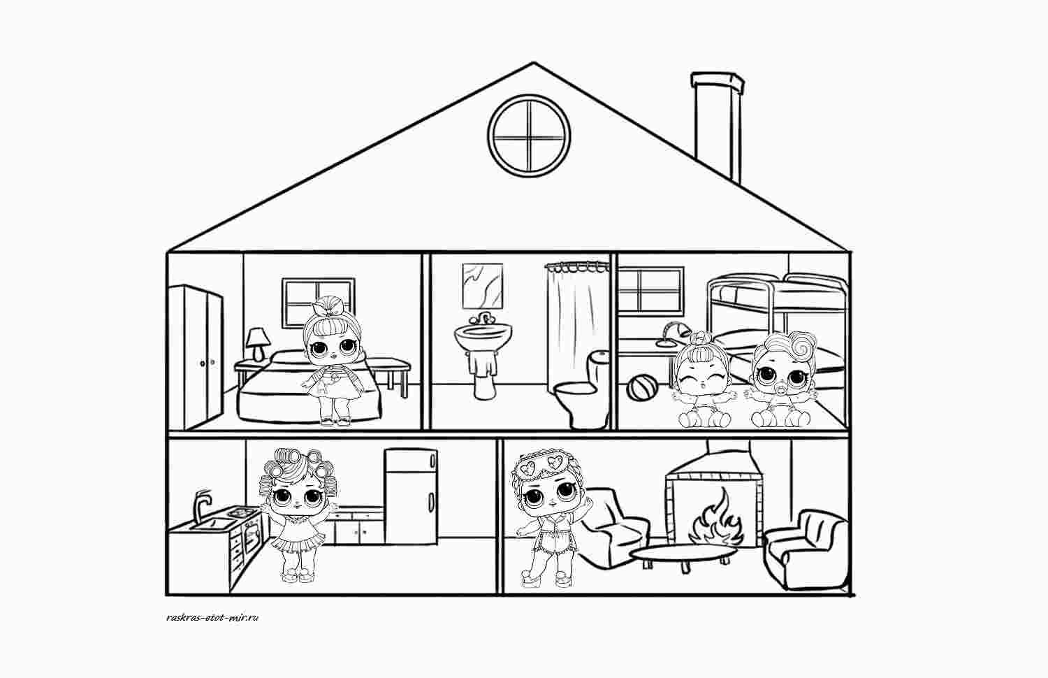 Lol House Coloring Pages Coloring Pages For Kids Unicorn Coloring Pages Coloring Pages