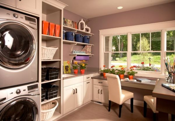 Waschküche Einrichten   33 Ideen Für Einen Modernen Wäscheraum