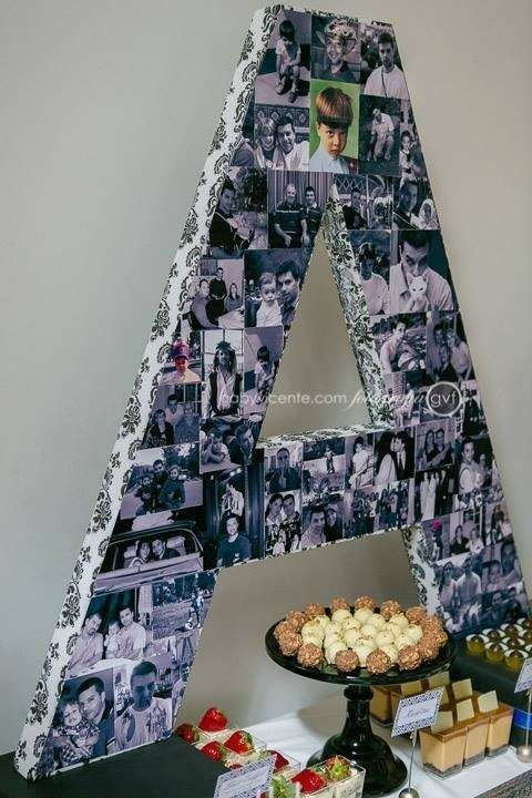 50s Birthday blue black and silver party adult party mens