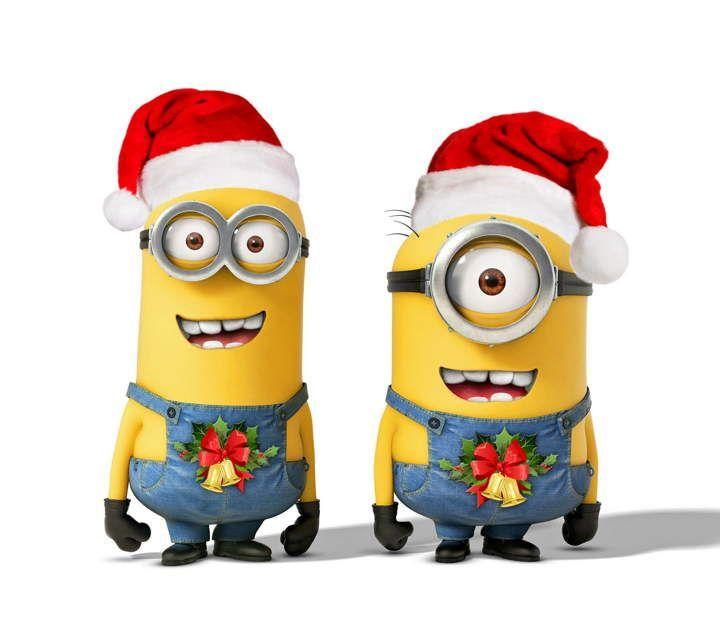 minions christmas hd desktop wallpaper widescreen high - Minions Christmas