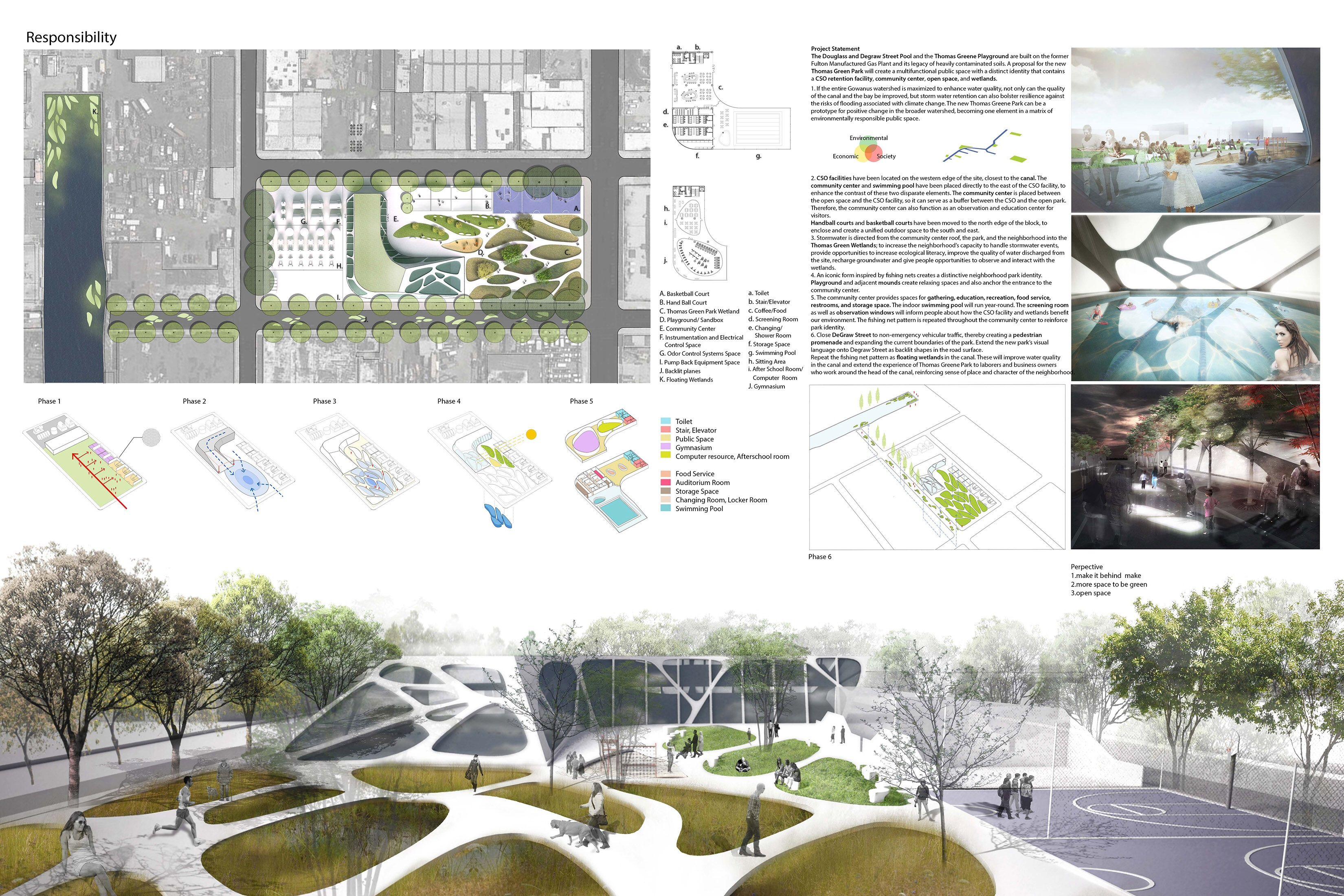 Poster Layout 5 | Landscape design competition, Landscape ...