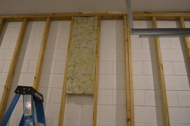 How I Insulated My Garage And Was It Worth It Garage Transformed Insulating Garage Walls Garage Walls Garage Transformation