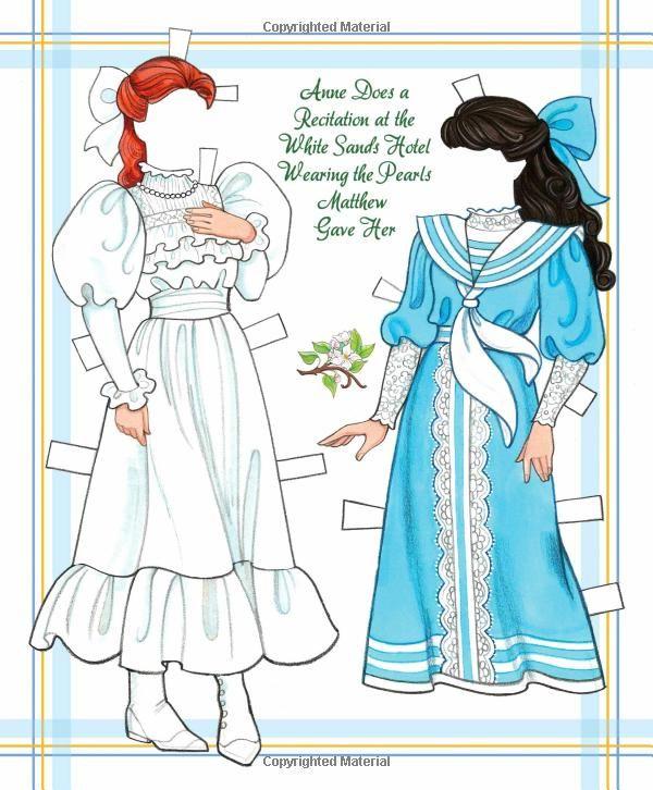Anne Of Green Gables Paper Doll Book Eileen Rudisill Miller