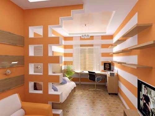 Color Blocking And Massing With Drywall Cutouts Reveals Gypsum