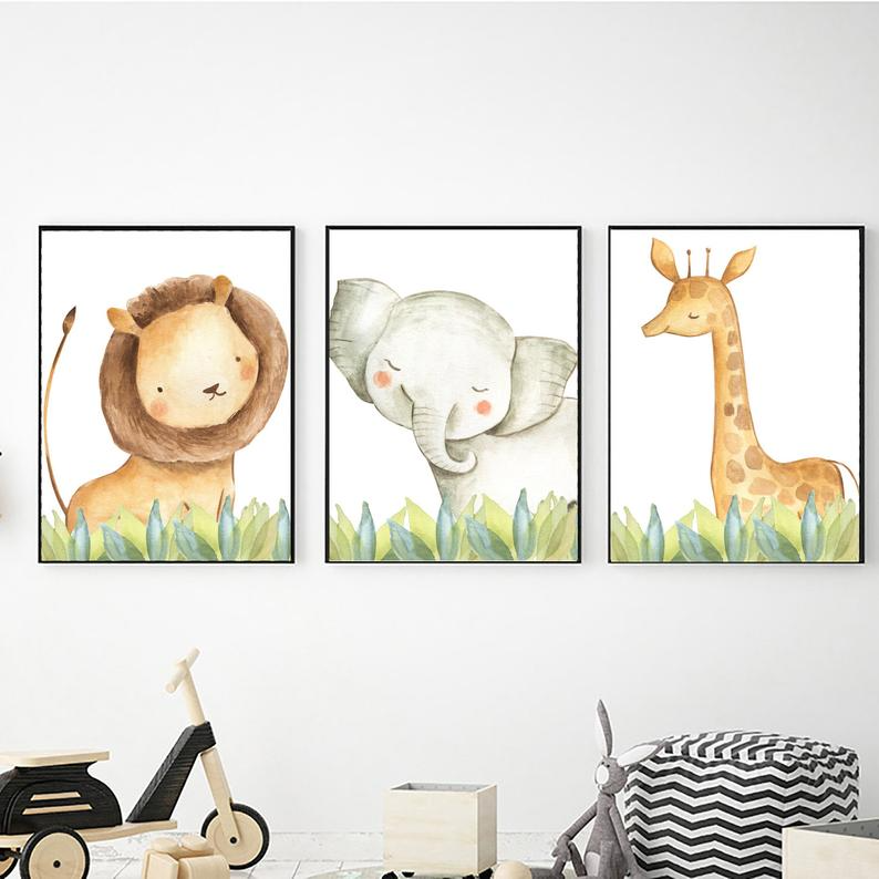 Safari Nursery Decor Digital Download Safari Animal Prints Etsy In 2020 Animal Wall Art Nursery Safari Wall Art Safari Animal Prints