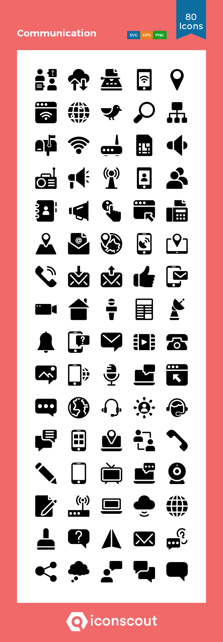 Download Communication Icon Pack Available In Svg Png Eps Ai Icon Fonts Icon Pack Icon Communication Icon
