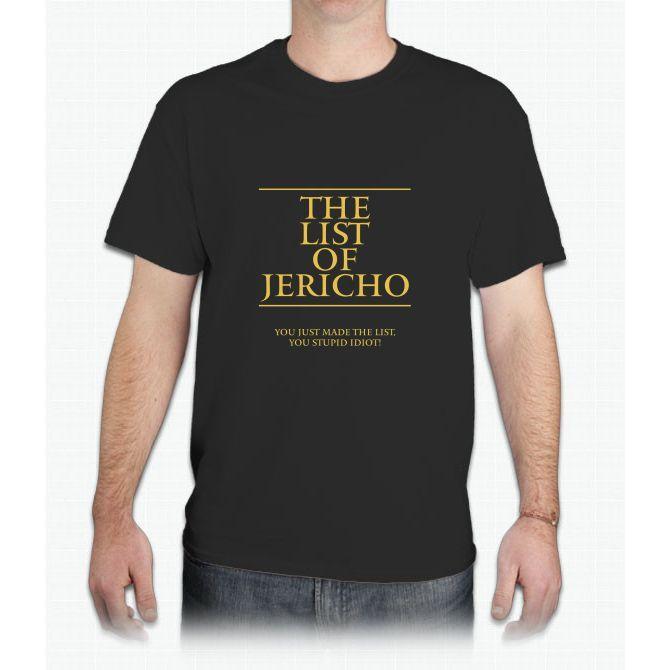 The List of Jericho - Mens T-Shirt