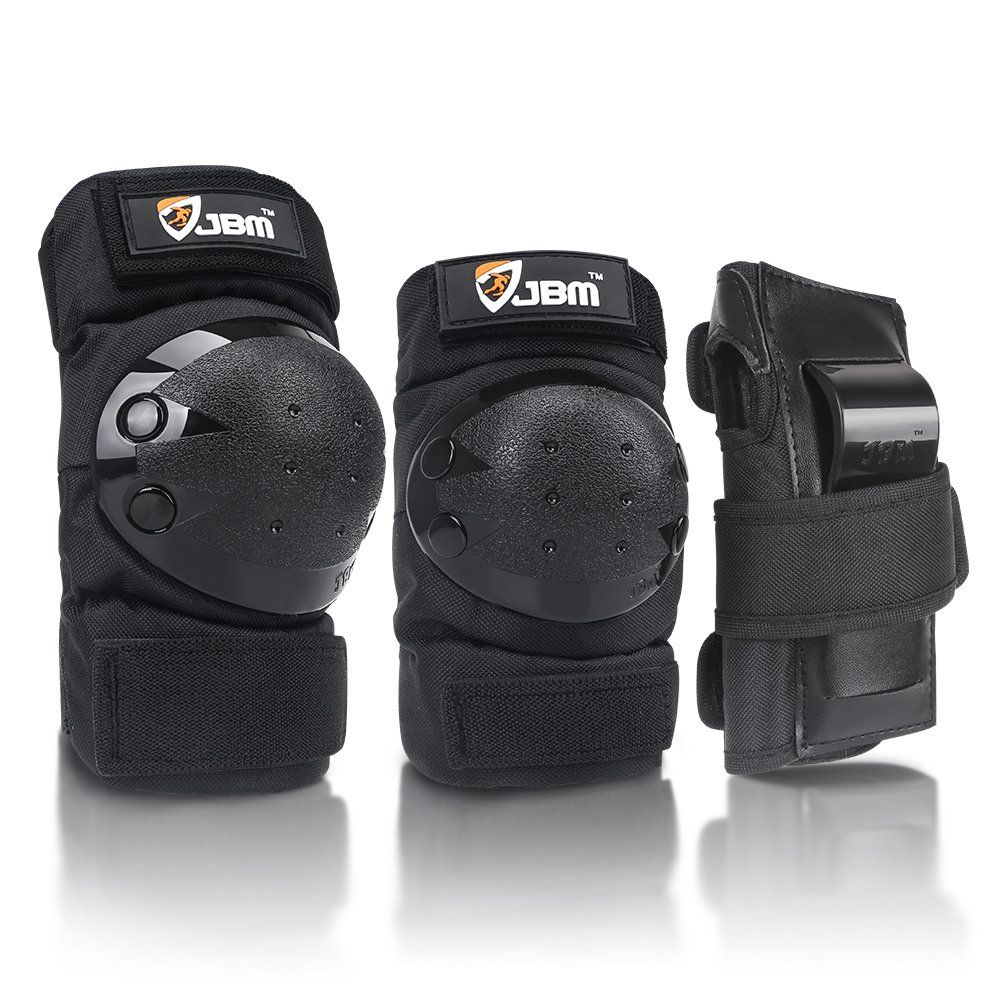 Jbm Adult Child Knee Pads Elbow Pads Wrist Guards 3 In 1