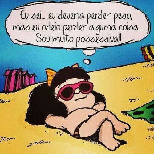 Mafalda linda...