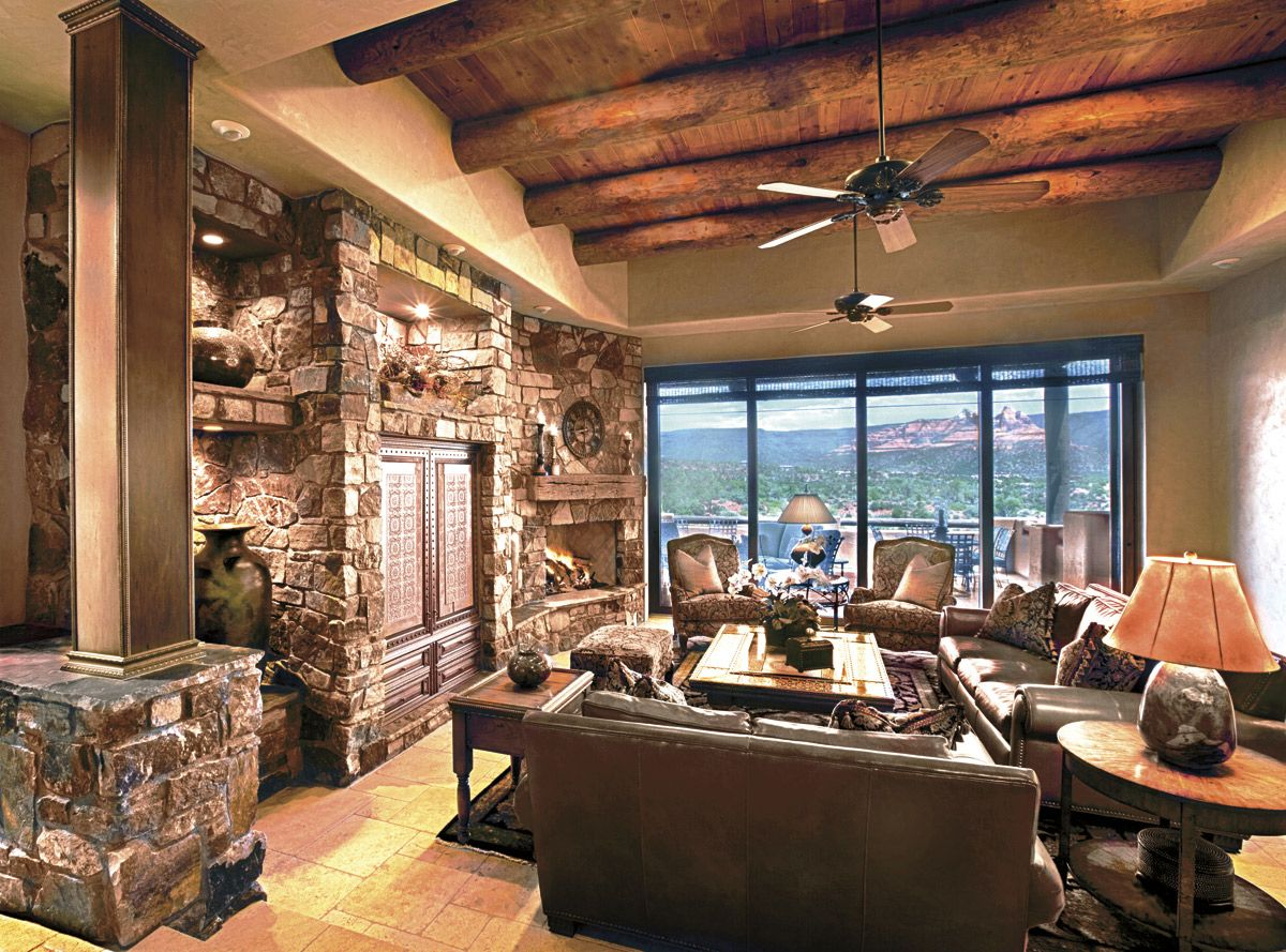 9 Incredible Interior Design Ideas For Small Living Room: Deluxe Tuscan Living Room Spacious Design Small Condo