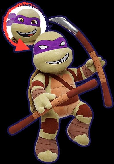 Build-A-Bear TMNT Teenage Mutant Ninja Turtles Collection ...
