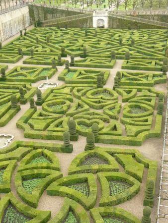 Chateau De Villandry Jardin Houses Parks And Gardens Pinterest