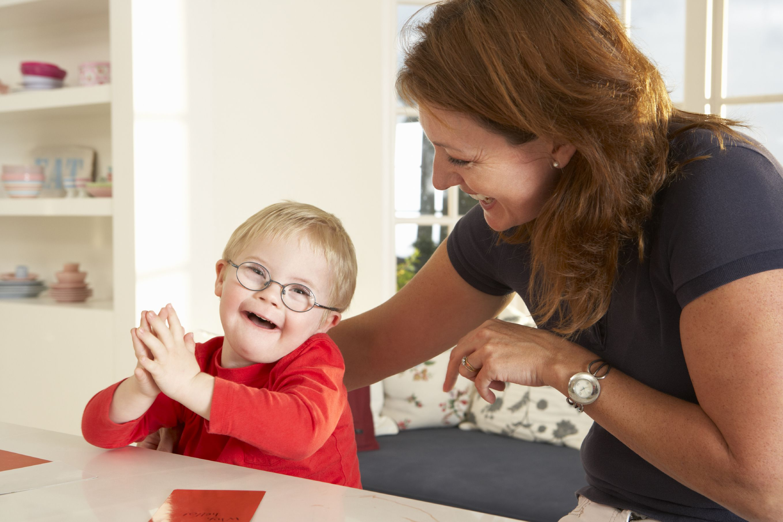 Teacher Appreciation Campaign photo Down Syndrome
