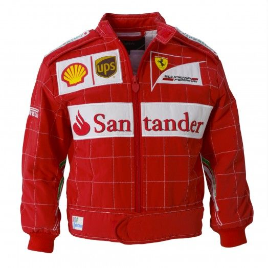 Kid S Scuderia Ferrari F1 Driver Jacket Ferrari Store Jackets Kids Couture Ferrari F1
