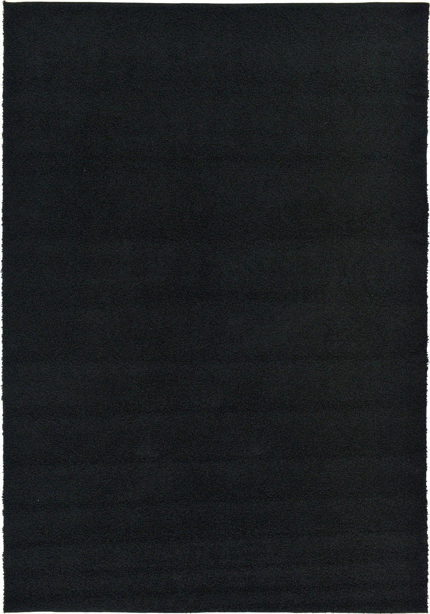 Goldie Black Area Rug