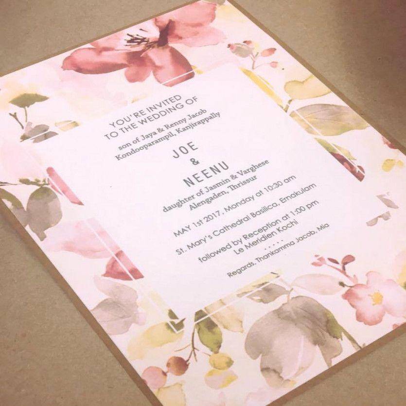 Kerala Muslim Wedding Invitation Card Design Wedding Invitation Card Design Marriage Invitation Card Indian Invitation Cards